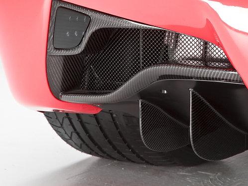 458 Italia Carbon Rear Fog Light Diffuser Surround