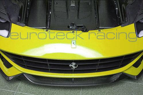 Ferrari F12 Berlinetta Carbon Fiber Front Lip 3pc