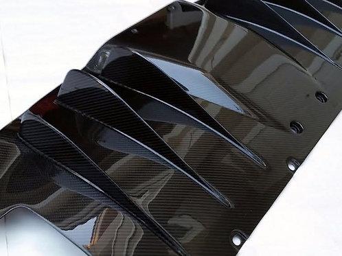 458 Italia Carbon Fiber Rear Diffuser