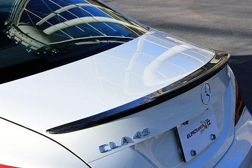 C117 CLA45 AMG Carbon Fiber Trunk Lip Spoiler