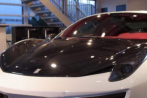 458 Italia Carbon Fiber Front Hood