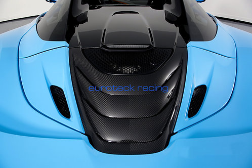 720s Spider Carbon Fiber Engine Cover/Rear Deck Lid Cover