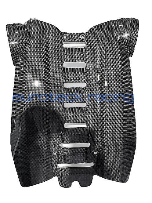 488 GTB / Spider Carbon Fiber Center Intake Engine Cover