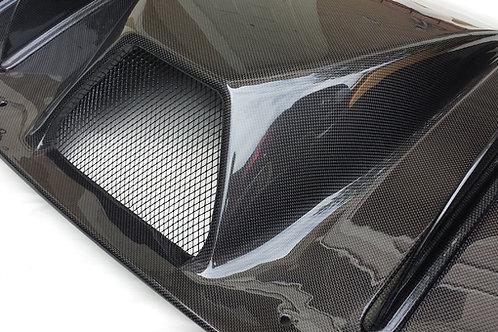 F430 Carbon Fiber Rear Diffuser