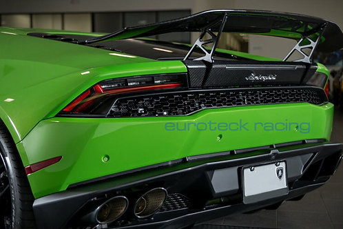 Huracan Carbon Fiber Rear Wing - Available in Forged Carbon