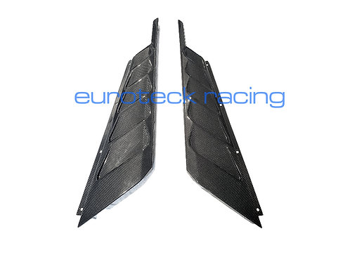 Huracan Carbon Fiber Rear Bonnet Engine Cover Vents Louver Panels