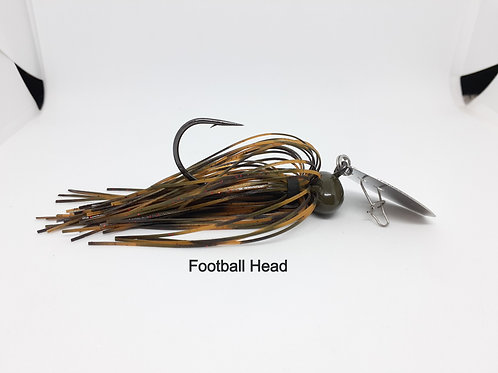 Clear Water Craw Vibrating Jig