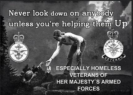 The LOL Foundation.  Helping UK Homeless Veterans.
