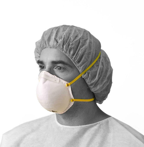 Mask Protection Medline N95 Particulate Respirator