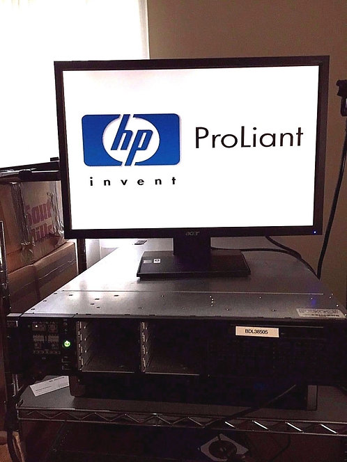 Network Server HP ProLiant DL380 G6 2x Opteron 2435 Six-Core 2.80GHz 64GB RAM
