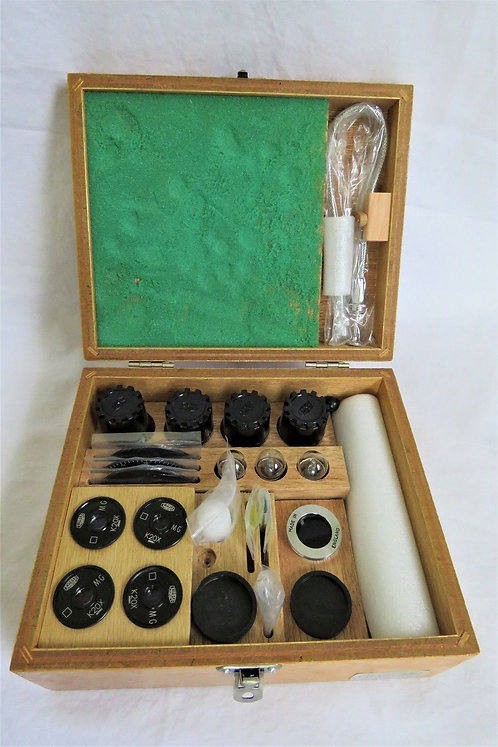 Olympus-Microscope-Objective-Set CASE-Full