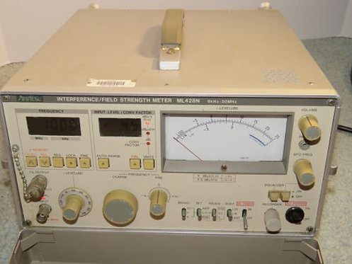 Receiver Interference Analyzer / Field Strength Meter 9khz~30Mhz. Made in Japan