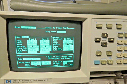HP 54201D Digitizing Oscilloscope W/10271A State Data Probe POD