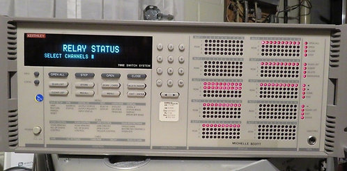 Keithley Instruments 7002 Electronic Switch System Serial # 0633950