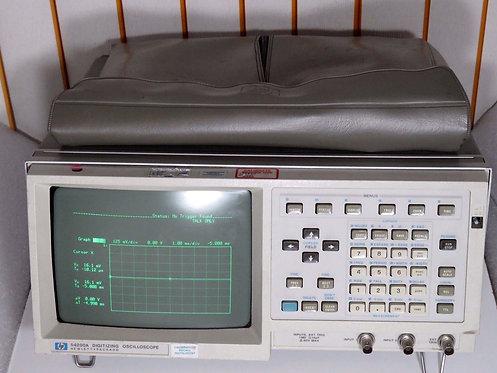 HP/Agilent 54200A 48-66Hz 2 Channel Digital Storage Oscilloscope, Amphenol Cable