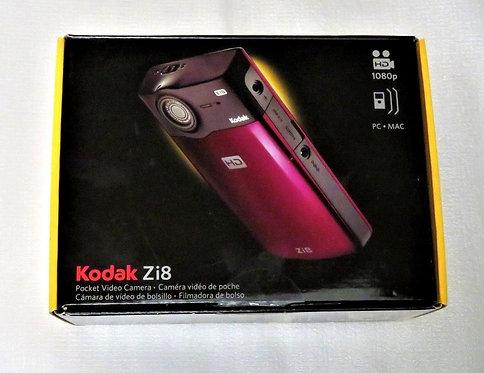NEW Kodak Zi8 Pocket High Definition Video Camera Black Color