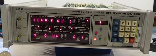 DSI DECOM SYSTEM INC, 7715 PCM BIT SYNCHRONIZER