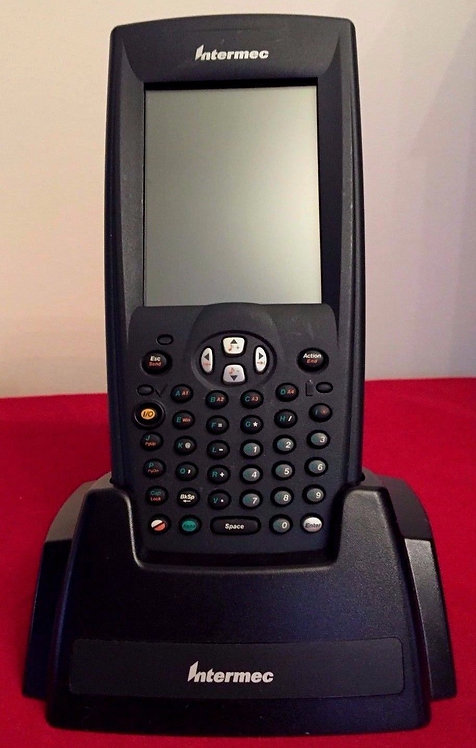 Wireless Handheld Computer Barcode Scanner Pocket PC Retail Intermec 700C