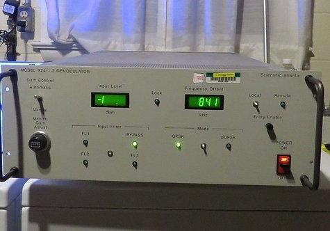 Scientific Atlanta Model 924-1-3 Demodulators Gain Control Automatic Made in USA