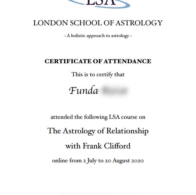 London School of Astrology