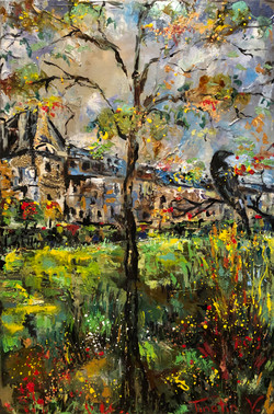 """""""Autumn by the Louvre"""""""