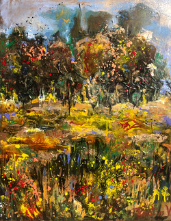 """""""Somewhere Along the Way"""" Diptych L"""