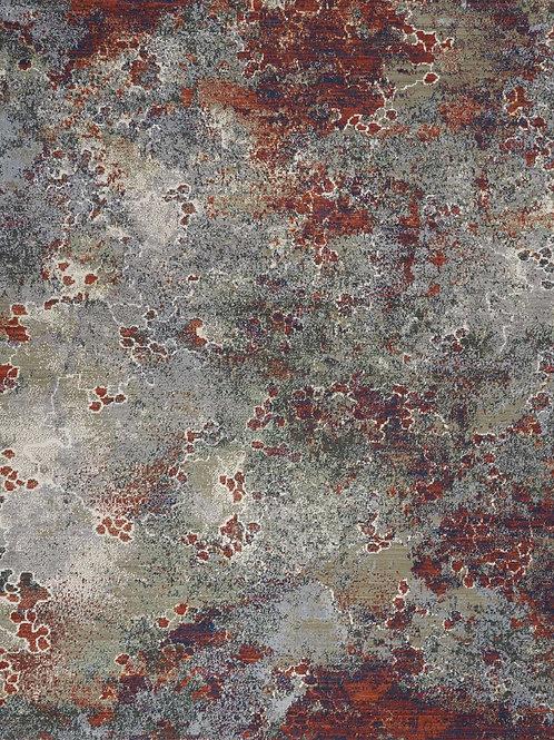 Nourison- Artworks- Seafoam/Brick