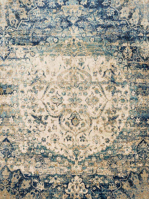 Loloi- Anastasia- Blue/Ivory