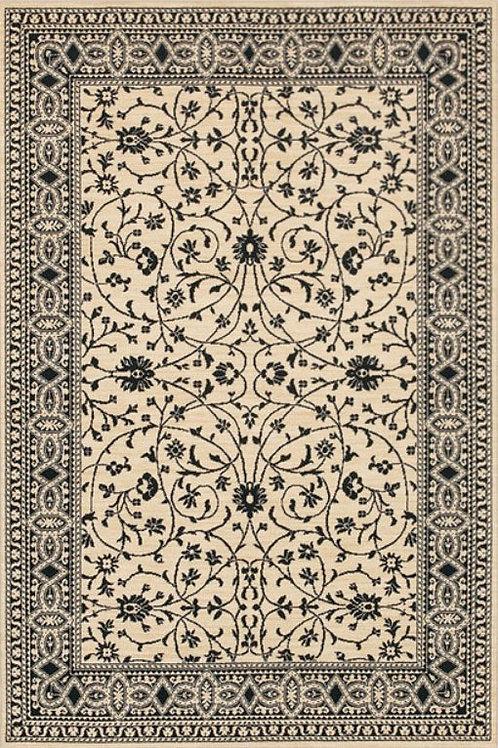 Karastan- Sierra Mar Kismet Ivory Black Small