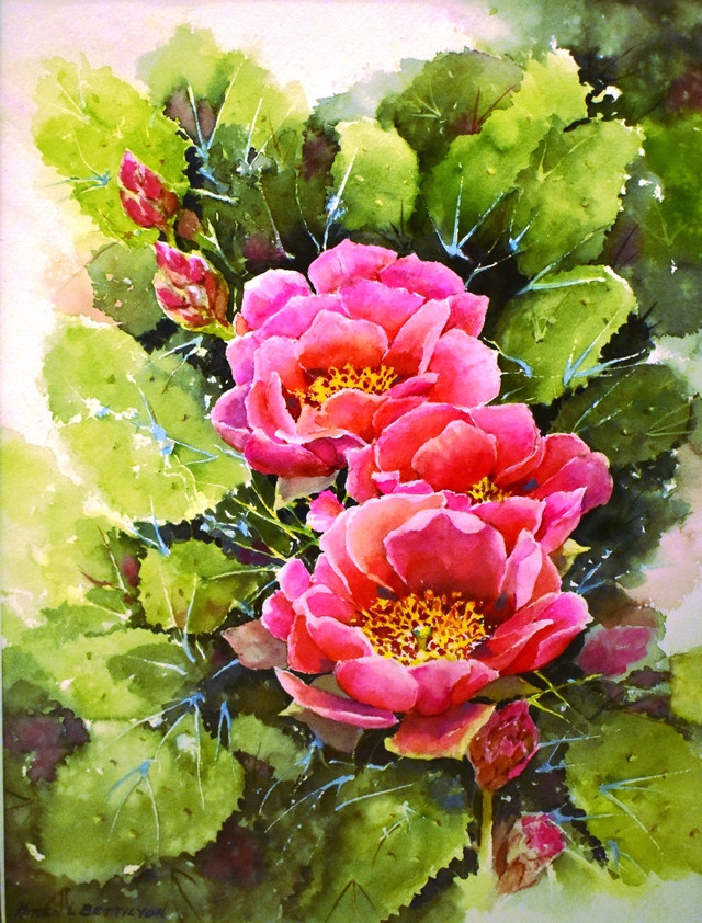 KB-Pink Cactus