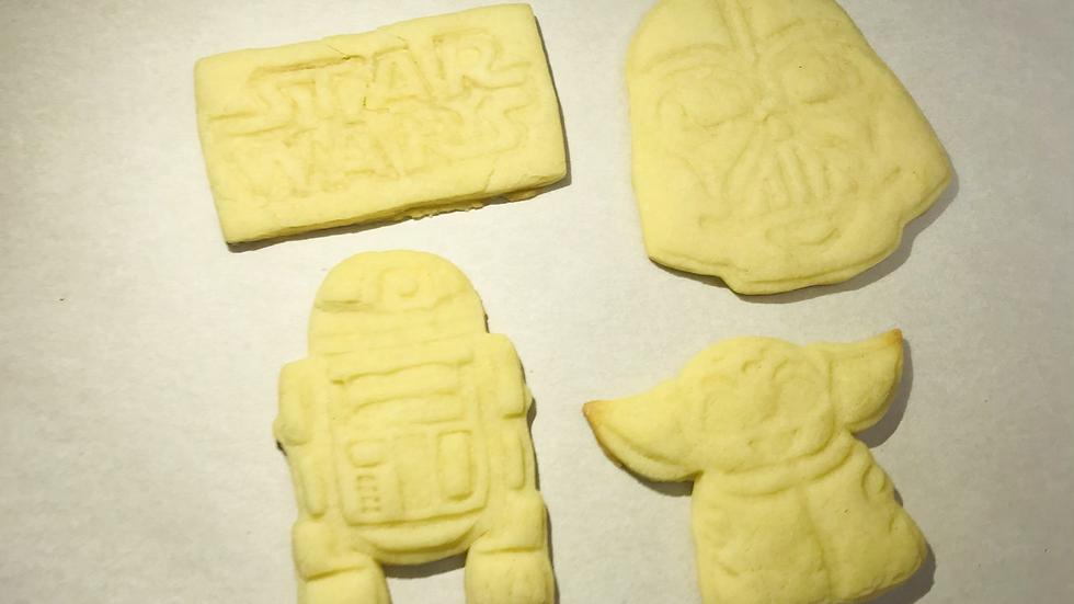 Star Wars cookie kit