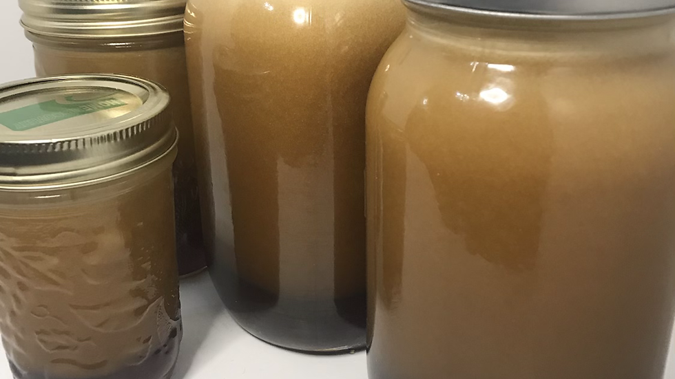1 quart cinnamon bun sauce