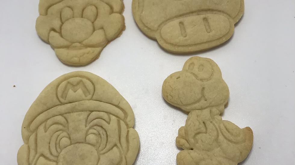 Super Mario cookie kit