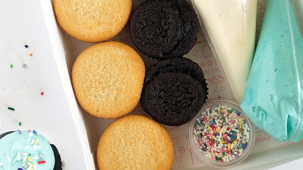 Themed cupcake kit
