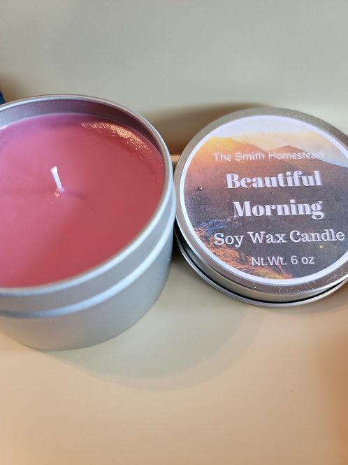 Beautiful Morning 6 oz. Candle