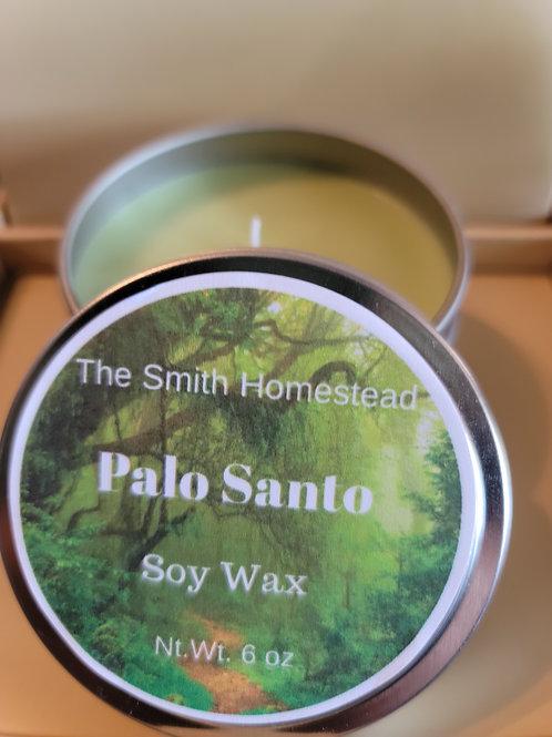 Palo Santo 6 oz soy candle
