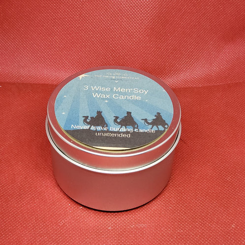 3 Wise Men Soy Wax Candle
