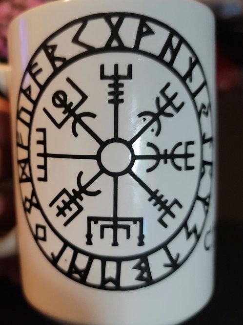 Christian Heathen Vinyl Printed Mug