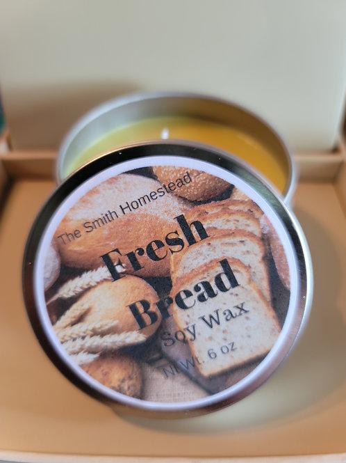Fresh Bread 🍞 6 oz Soy Candle