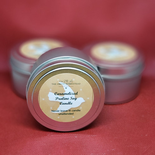 Caramelized Pralines Soy Wax Candle