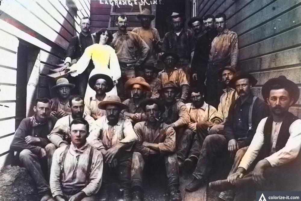 Старатели в Сан-Франциско, 1850 гг
