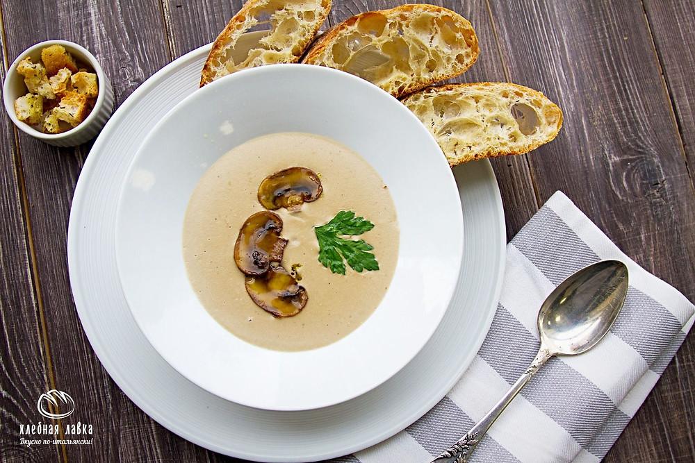 Традиции вкуса – Грибной суп-пюре