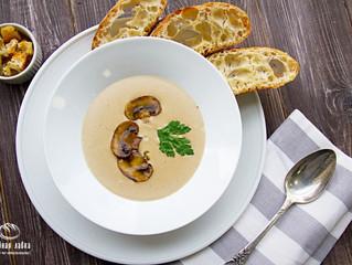 Традиции вкуса - Грибной суп-пюре