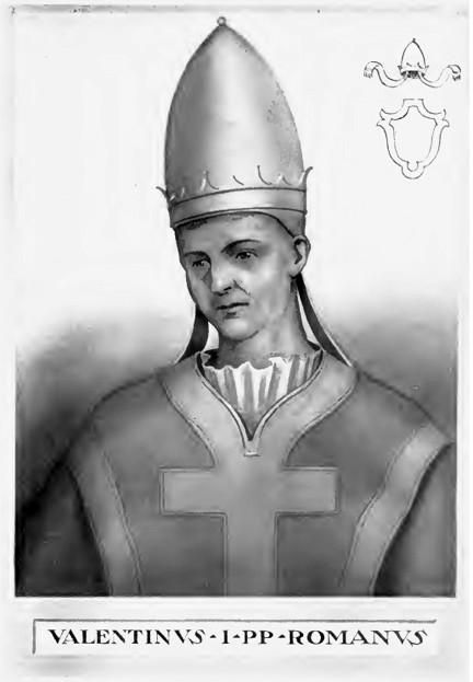 Папа Валентин