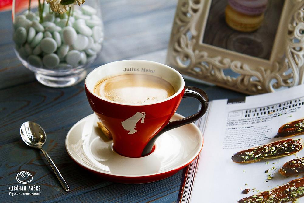 Кофе недели - Кофе с молоком ЮМ Триест