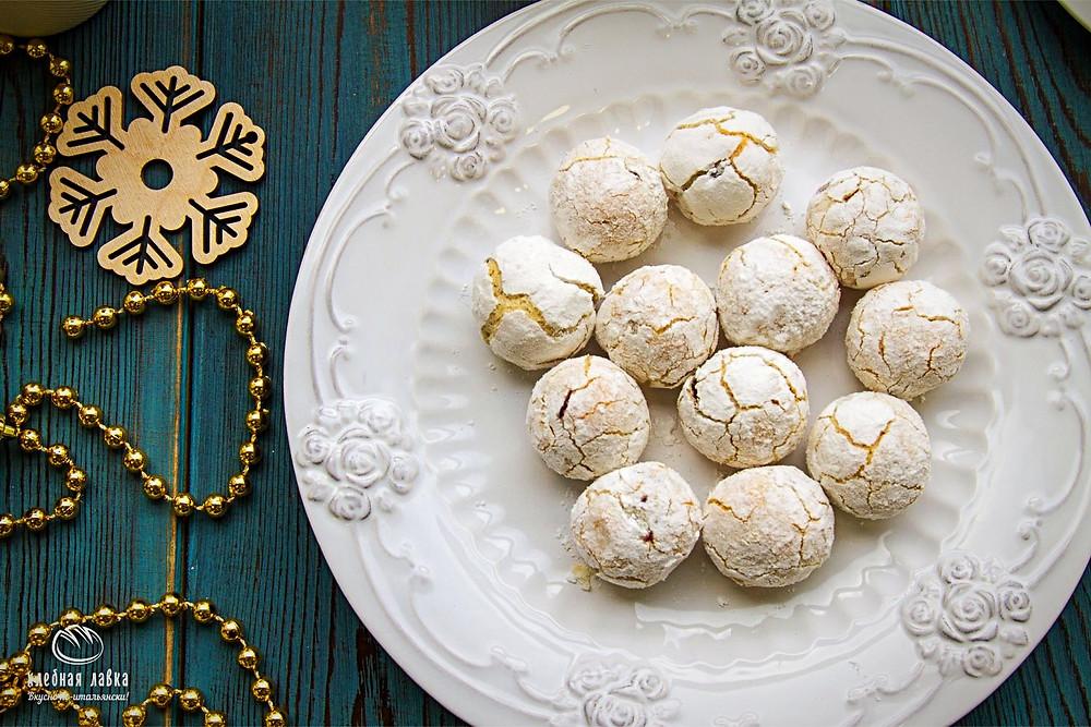 Бисквит де Ноэль в Хлебной Лавка
