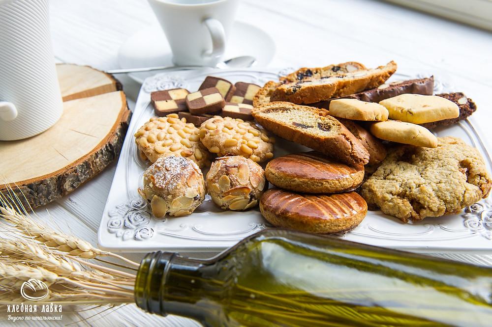 Итальянское печенье в Хлебной Лавке