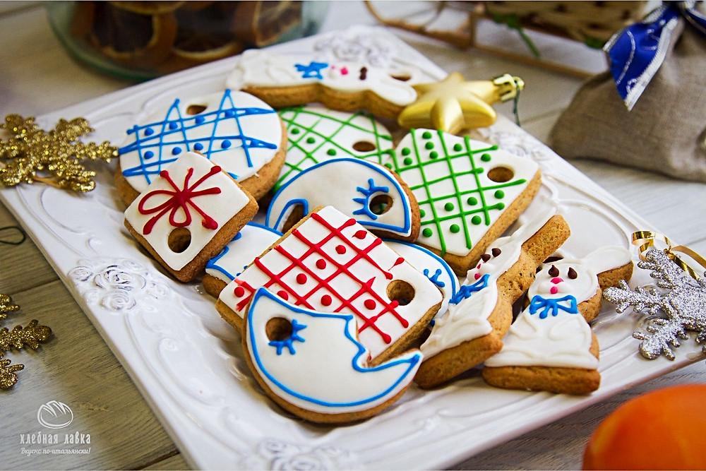 Готовимся к Новому году и Рождеству – печенье-ёлочные игрушки