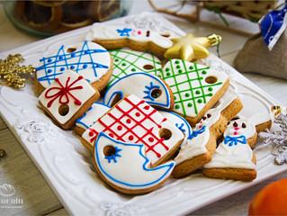 Готовимся к Новому году и Рождеству – печенье - ёлочные игрушки