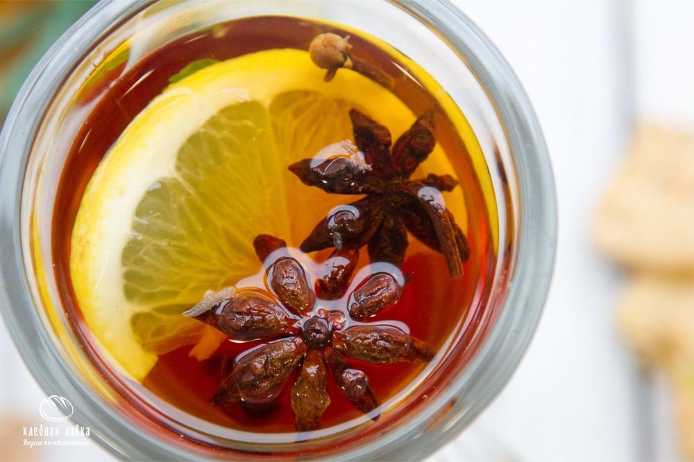 Новинка меню – Согревающий чай